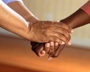 clasped-hands-comfort-hands-people-city-college